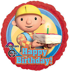Bob The Builder Happy Birthday Foil Balloon