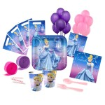 CINDERELLA SPARKLE Deluxe Party Pack