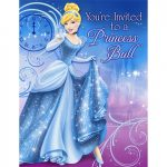 CINDERELLA SPARKLE INVITATIONS