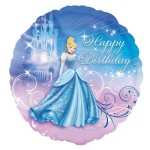 Cinderella Happy Birthday Foil Balloon