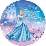 Cinderella Sparkle Cake Image