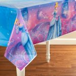 Cinderella Sparkle Plastic Tablecover