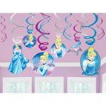 Cinderella Sparkle Swirl Decoration