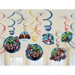 Avengers Assemble Swirl Decorations