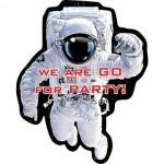 Space Blast Invites