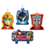 TRANSFORMERS CANDLE SET