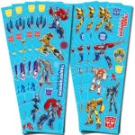 Transformer Party Stickers