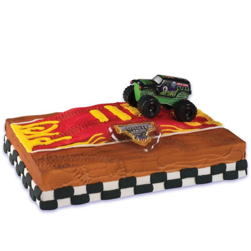 Monster Jam Cake Topper
