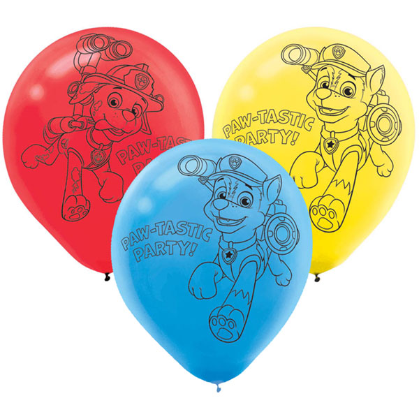 Paw Patrol Latex Balloons This Party Started