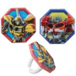 Transformers Party Rings