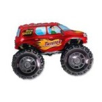 Big Wheels Monster Truck Red