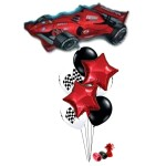 Formula Racing Car Balloon Bouquet