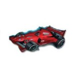 Formula Racing Car Red