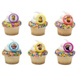 Minions Despicable Me - Cupcake Rings