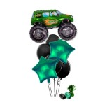 Monster Truck Green Balloon Bouquet