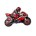 Moto Racing Bike Red