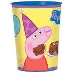 Peppa Pig 16 oz. Plastic Cup