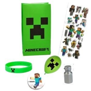 Minecraft Party Favor Bag