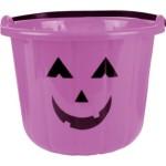 Purple Pumpkin Treat Bucket