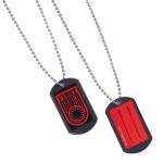 Star Wars Plastic Dog Tags with Sticker