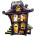 31in Shape Foil Haunted House
