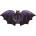 44in Bat Foil Gothic Bat