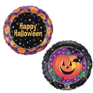 Happy Halloween 18in Foil Balloon
