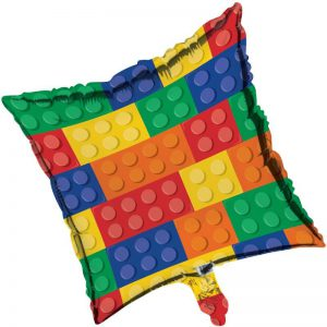 Lego Block Party Foil Balloon