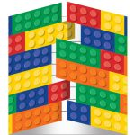 Lego Block Party Invitations
