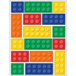 Lego Block Party Stickers