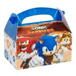 Sonic Boom Empty Favor Boxes