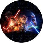 Star Wars VII The Force Awakens Cake Image