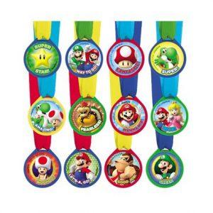 Super Mario Award Medals