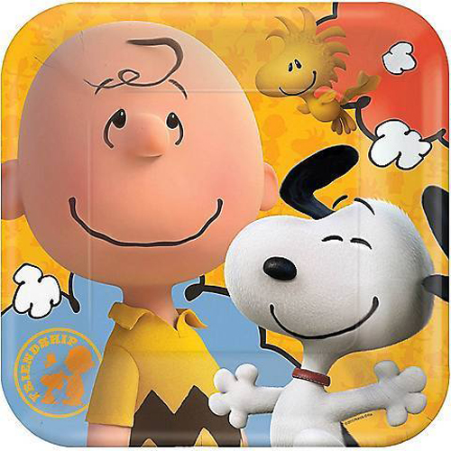 THE PEANUTS MOVIE DINNER PLATES