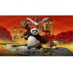 Kung Fu Panda A4 Cake Image