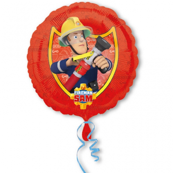 Fireman Sam 18in Foil Balloon (Red)