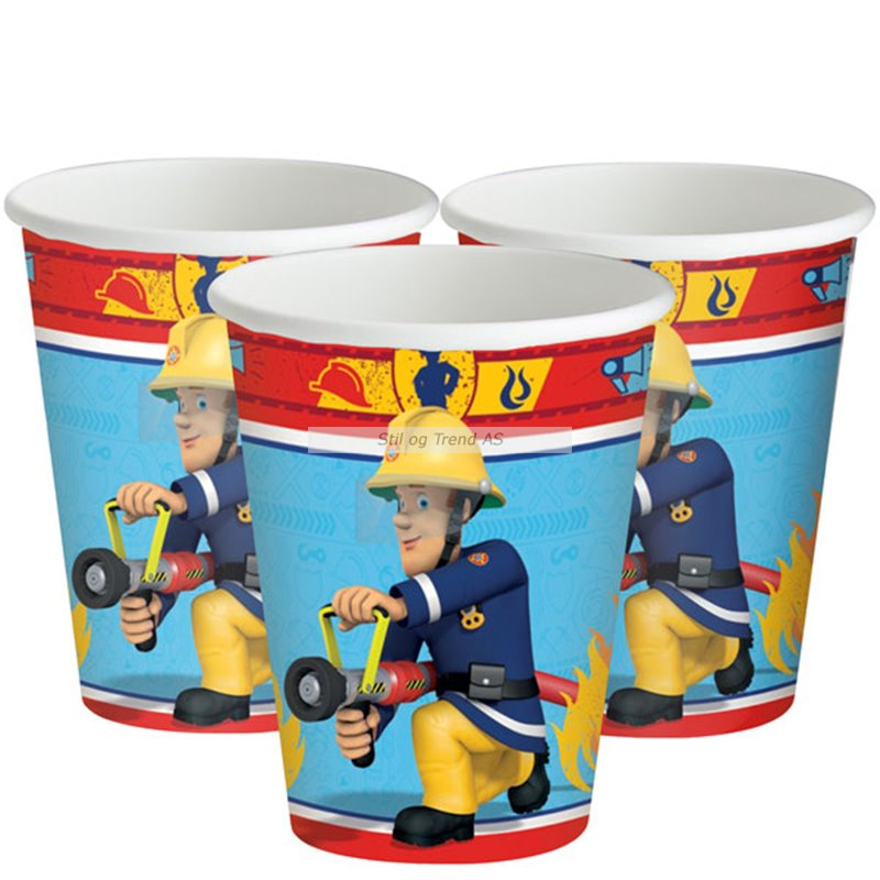 Fireman Sam Party Cups