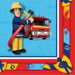 Fireman Sam Party Napkins