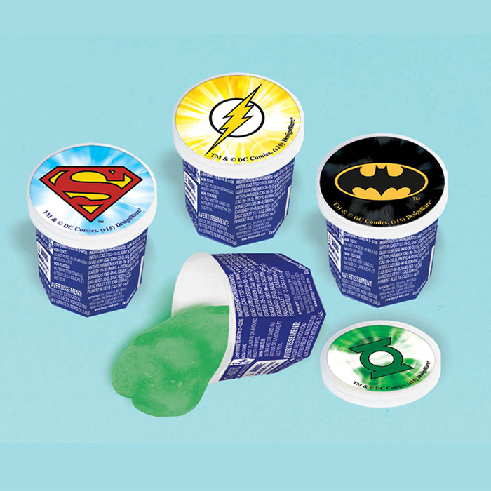 JUSTICE LEAGUE OOZE PUTTY FAVOR
