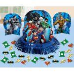 Justice League Table Decor Kit
