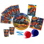 Blaze and The Monster Machines Basic Party Pack