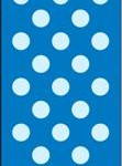 DOTS ROYAL BLUE 12 PAPER BAGS