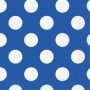 DOTS ROYAL BLUE 16 BEVERAGE NAPKINS