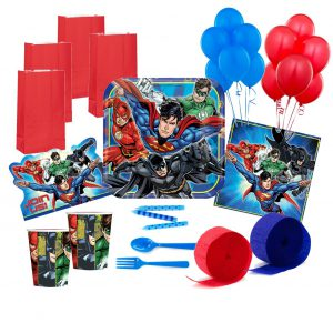 Justice League Deluxe Party Pack