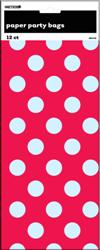 Red and White Dots PAPER BAGS (12)