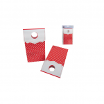 red and white dots lolly bags