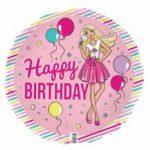 Barbie 18in Foil Balloon