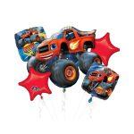 Blaze Balloon Packaged Bouquet