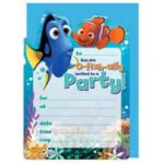 Finding Dory & Nemo Party Invitations