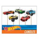 Hot Wheels Birthday Candle Picks